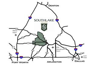 Southlake_Locator_Map